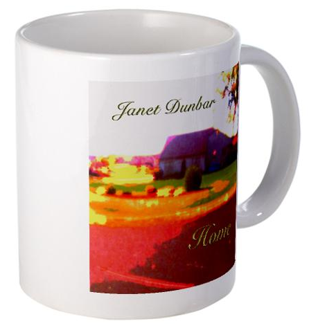 Coffee Cup for Composer Janet Dunbar's Home for sale on cafepress.com